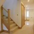 oak doors and oak staircase in a hallway really finish this to a high standard