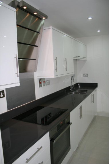 designer extractor cooker hood howdens kitchen design managed by loop construction staff