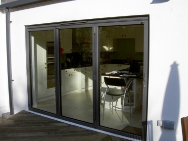 Folding Doors 2 sets of sliding folding doors were fitted into the rear openings. Manufactured by Sunflex the doors had flush thresholds between the ... & London Road St Albans u2039 Hertfordshire u2039 Extensions :: Loop ...