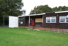 loop construction refurbish wheathampstead cricket club after arsen attack in village